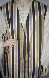 New Handmade Renaissance / Pirate Boy's Vest Size 13/14 Various Colors