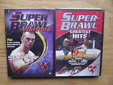 Super Brawl: 2 Lot - Greatest Hits/Warriors (DVD, 2005) New