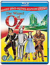 THE WIZARD OF OZ - SING ALONG EDITION - BLU RAY - NEW / SEALED