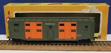 Vintage Cox 6122-2 HO US Army Troop Car RTR Boxed 70s