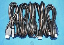 LOT OF 5 NEW 6FT HDMI CABLES FOR BLURAY,PS3 XBOX,DIRECTV,1080P, DISH NETWORK