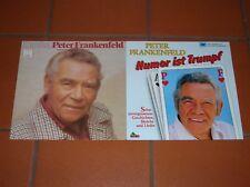 """""""12"""" - LP-Sammlung - PETER FRANKENFELD - 2 LPs - near MINT !!!"""