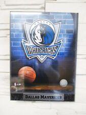 Dallas Mavericks Logo Holz Wandbild 30 cm,Plaque NBA Basketball,Neu