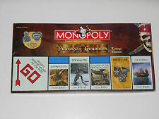 Disney Pirates of the Caribbean Monopoly Trilogy Edition 2007 Movie Board Game