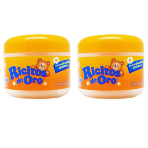 Ricitos De Oro Chamomile Baby Styling Gel. Alcohol Free, Natural. 4oz. Pack of 2