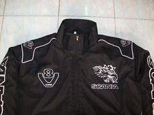 NEU SCANIA V8 Fan - Jacke (Eagle) schwarz jacket veste jas giacca jakka giacca