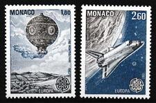 Monaco - Werke des menschlichen Geistes Satz postfrisch 1983 Mi. 1579-1580