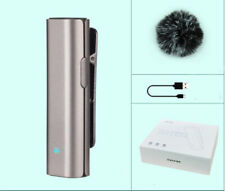 Bluetooth Lapel Clip-on Mic for IOS iPad iPhone Android Smart Portable Digital