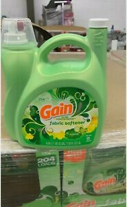 Gain Ultra Concentrated Liquid Fabric Softener Original 204 loads 138 oz