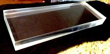15 Thick Cell Cast Clear Polished Acrylic Plexiglass Sheet 15 X 8 X 12