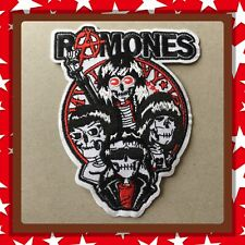 🇨🇦 Ramones Band Logo Embroidered Patch Sew On/stick On Cloth/new 🇨🇦#86