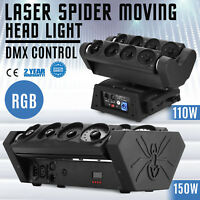 RGB wide beam laser spider moving head light DMX DJ stage lighting for party
