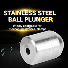 20pcs Stainless Steel Positioning Beads Screw Smooth Spring Ball Plunger(φ 2*3)