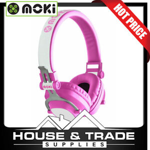 Moki Headphones Bluetooth 96dB PINK EXO KIDS ACC-HPEXKP