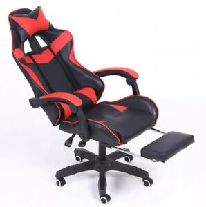 Wcg Gaming Chair PVC Household Armchair Ergonomic Computer Chair Office Chairs L