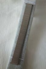 Stainless Steel Silver Tone Elastic Watch Band - Lug Fits 16mm to 21mm