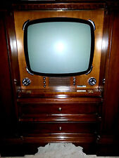 MOBILE TV TELEVISORE SPACE AGE DESIGN VINTAGE EPOCA ANNI 50 60 70 GERMANVOX WEGA