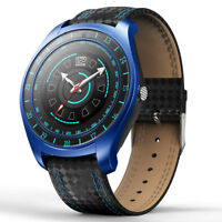 Bluetooth Smart Watch Unlocked GSM Phone Heart Rate Monitor For Android