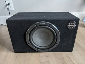 """Bassworx Subwoofer Cabinet and Sony GS 8"""" Subwoofer"""