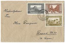 Bosnia 1911 Trebinje nice cover to Lapad Dubrovnik