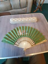 Antique Silk French Fan Blaize & Marchand