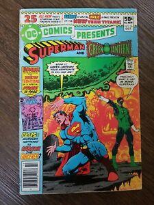 DC Comics Presents Superman and Green Lantern #26 Oct 1980, New Teen Titans key