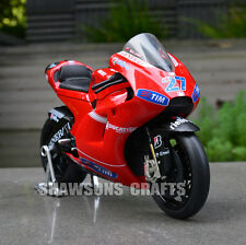 DIECAST MODEL TOY 1:12 DUCATI DESMOSEDICI CASEY STONER NO.27 MOTORCYCLE REPLICA