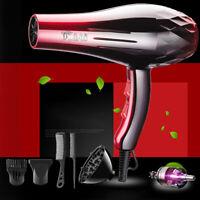 6Pcs Sèche Cheveux Puissant 2200W Hair Dryer Coiffure Salon Peigne Ventilateur