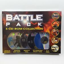 Battle Pack 5 CD Rom PC Game Pack Wrath Of The Demon Plus Four More New Sealed