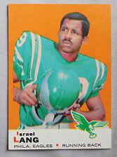 1969 Topps Israel Lang Philadelphia Eagles #107 Football Card nm