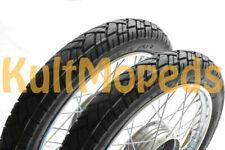 Räder pas. für Simson S51 S50 S53 S70 KR51 Schwalbe Star Komplett Rad 16 Reifen