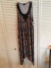 NWT SPENSE WOMAN  sleeveless stretch beaded detail dress Multicolored Size Large