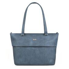 1cf041c1a6dd7 ZWEI Mademoiselle M15 nubuk blue blau Neu Shopper Tasche Schultertasche