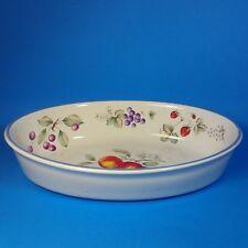 "Savoir Vivre LUSCIOUS 11"" Oval Baker Casserole Baking Dish Italy TG017"