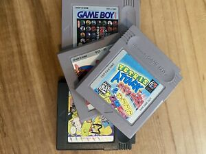 gameboy games lot Untested