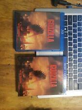 Godzilla - Blu-ray & Dvd 2014 (2 Discs) - Slipcase, Played Once, Bryan Cranston