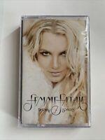 Femme Fatale RARE Britney Spears CASSETTE Limited Edition Gold Color
