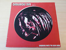EX- !! Drumhead Meets The Ninja Shark/Dangerous Dub Part II/1996 Copasetic LP