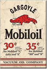 Mobil USA Retro Tankstellen Magnet Schild Mobiloil Gargoyle