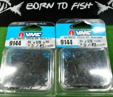 hameçons vmc 9144 bk 1/0 x 200 special ver mer worm saltwater