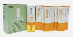 NEW Clinique Fresh Pressed 7-Day System with Pure Vitamin C. NIB! FREE SHIPPING!