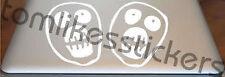 2 x The Mighty Boosh Vinyl sticker/decal TV DVD