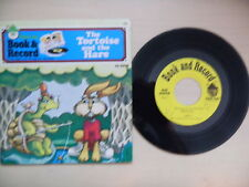 Peter Pan Book & Record THE TORTOISE AND THE HARE 45rpm 1976