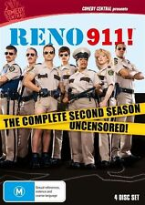 Reno 911 : Season 2 (DVD, 2010, 4-Disc Set)
