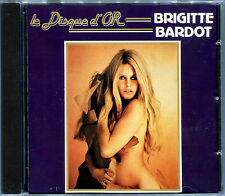 BRIGITTE BARDOT - LE DISQUE D'OR - CD 15 TITRES  [111]