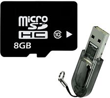 OEM 8GB 8G Class 10 Micro SD Micro SDHC TF Flash Memory Card + R2