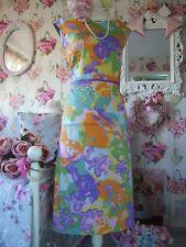 9d4eb1e9a06 Boden size 18 l green orange purple 70 s inspired dress