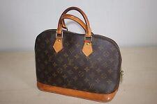 Authentic LOUIS VUITTON Monogram Alma Handbag