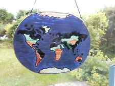 Glass painted Earth / World