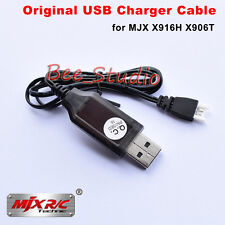 Original USB Charger Cable For MJX X916H X916T RC Quadcopter Drone Spare Parts